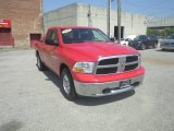 2011 Flame Red Dodge Ram 1500 SLT Quad Cab 4x4 #85804686