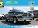 2011 Hunter Green Pearl Dodge Ram 1500 Laramie Crew Cab #85804595