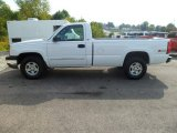 2003 Summit White Chevrolet Silverado 1500 LS Regular Cab 4x4 #85804656