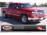 2007 Victory Red Chevrolet Silverado 1500 Classic LS Crew Cab #85804273