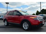2011 Red Candy Metallic Ford Explorer XLT #85804261