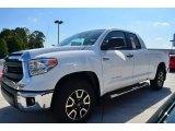 2014 Super White Toyota Tundra SR5 TRD Double Cab #85804260