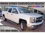 2014 White Diamond Tricoat Chevrolet Silverado 1500 LT Z71 Crew Cab 4x4 #85804459