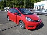 2013 Milano Red Honda Fit Sport #85804543