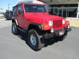 2006 Flame Red Jeep Wrangler Sport 4x4 #85804450