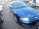 2003 Arrival Blue Metallic Chevrolet Cavalier LS Sport Coupe #85853988