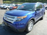 2014 Ford Explorer Deep Impact Blue