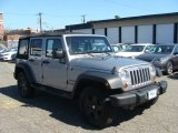 2013 Billet Silver Metallic Jeep Wrangler Unlimited Sport S 4x4 #85854542