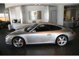 2008 Arctic Silver Metallic Porsche 911 Carrera S Coupe #854869