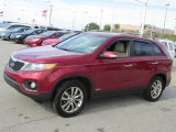 2011 Kia Sorento Spicy Red