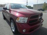 2014 Deep Cherry Red Crystal Pearl Ram 1500 Express Quad Cab 4x4 #85854527
