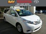 2011 Super White Toyota Sienna XLE #85854062