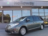 2011 South Pacific Blue Pearl Toyota Sienna Limited AWD #85854508