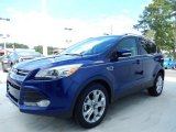 2014 Deep Impact Blue Ford Escape Titanium 1.6L EcoBoost #85854124