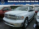 2014 Bright White Ram 1500 Big Horn Quad Cab 4x4 #85854249