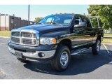 2004 Black Dodge Ram 3500 Laramie Quad Cab 4x4 #85854331
