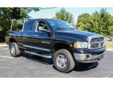 Black Dodge Ram 3500 in 2004