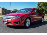 2010 Red Candy Metallic Ford Fusion SE #85854325