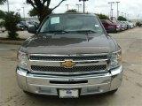 2012 Graystone Metallic Chevrolet Silverado 1500 LS Crew Cab #85854105
