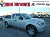 2013 Brilliant Silver Nissan Frontier SV V6 King Cab 4x4 #85854402