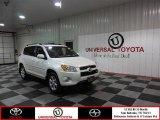 2012 Blizzard White Pearl Toyota RAV4 V6 Limited #85854086