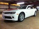 2014 Summit White Chevrolet Camaro LS Coupe #85854198