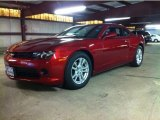 2014 Crystal Red Tintcoat Chevrolet Camaro LS Coupe #85854197