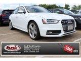 2014 Ibis White Audi S4 Premium plus 3.0 TFSI quattro #85854283