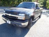 2004 Dark Gray Metallic Chevrolet Silverado 1500 Z71 Extended Cab 4x4 #85854001