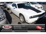2013 Bright White Dodge Challenger R/T #85853995