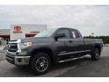 2014 Magnetic Gray Metallic Toyota Tundra SR5 Double Cab 4x4 #85907441