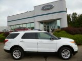 2013 Oxford White Ford Explorer XLT 4WD #85907225