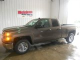 2014 Brownstone Metallic Chevrolet Silverado 1500 WT Double Cab #85907953