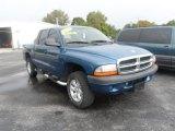 2004 Atlantic Blue Pearl Dodge Dakota SLT Quad Cab 4x4 #85907944