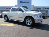 2010 Cool Vanilla Dodge Ram 1500 Big Horn Crew Cab #85907530