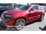 2014 Deep Cherry Red Crystal Pearl Jeep Grand Cherokee SRT 4x4 #85907731