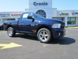 2014 True Blue Pearl Coat Ram 1500 Express Regular Cab #85907516