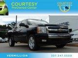 2007 Black Chevrolet Silverado 1500 LT Crew Cab #85907828