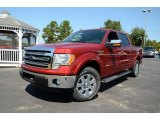 2013 Ruby Red Metallic Ford F150 Lariat SuperCrew #85907707