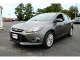 2014 Sterling Gray Ford Focus Titanium Hatchback #85907703