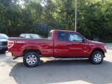 2013 Ruby Red Metallic Ford F150 XLT SuperCab 4x4 #85907357