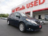 2011 South Pacific Blue Pearl Toyota Sienna XLE #85907266