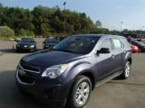 2014 Atlantis Blue Metallic Chevrolet Equinox LS AWD #85907468