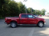 2013 Ruby Red Metallic Ford F150 XLT SuperCrew 4x4 #85907356