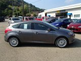 2014 Sterling Gray Ford Focus Titanium Hatchback #85907354