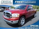2006 Inferno Red Crystal Pearl Dodge Ram 1500 SLT Quad Cab #85907791