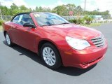 2010 Chrysler Sebring Inferno Red Crystal Pearl