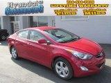 2013 Red Hyundai Elantra GLS #85907147