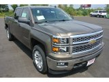 2014 Brownstone Metallic Chevrolet Silverado 1500 LT Crew Cab 4x4 #85907759