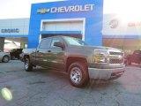 2014 Brownstone Metallic Chevrolet Silverado 1500 WT Crew Cab #85961657
